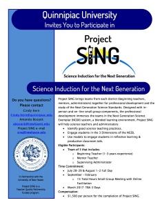 2016-17 Project SING Flyer C2Y1