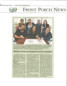 Project SING Meriden Record-Journal Aug 23